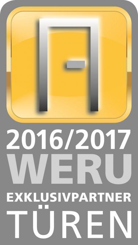 Weru Zertifikat Exklusivpartner Tueren Datum 4c 2016 17
